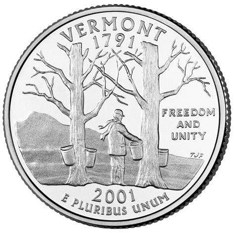 state quarters 188 dollar quot washington quarter quot vermont united states numista