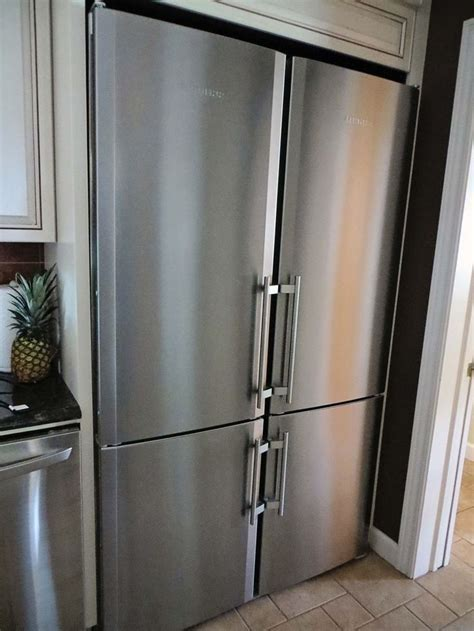 Stainless steel double wide refrigerator!   Luxury
