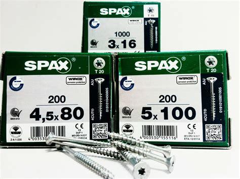 schrauben günstig kaufen spax schrauben gr 246 223 en fkh