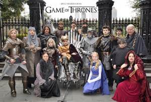 Group Halloween Costumes Game of Thrones