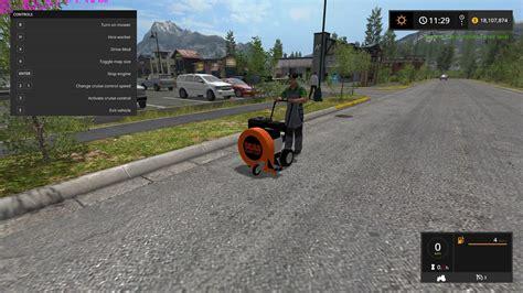 ls made from leaves scag walk behind leaf blower ls 17 farming simulator
