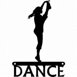 Dance Art Sign - High Kick Dancer