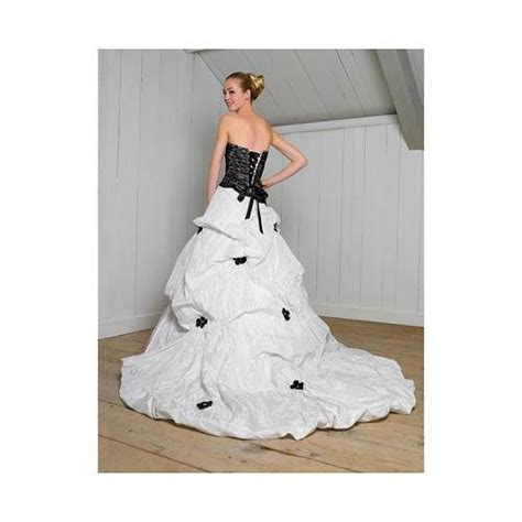 corset wedding dresses black and white gallery