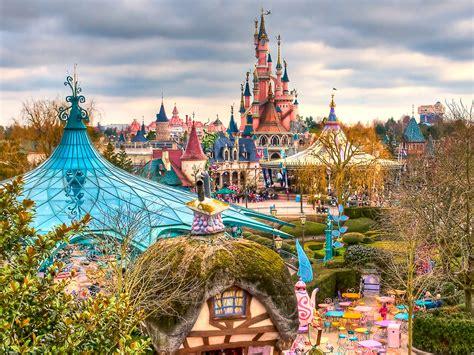 Paris Disneyland France World For Travel