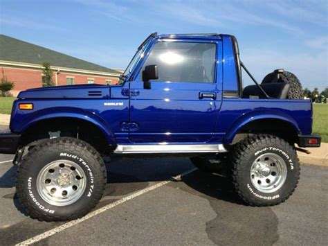 suzuki jeep 4 door purchase used 1994 suzuki samurai jl sport utility 2 door