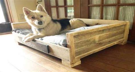 fabriquer un canapé soi meme lits pour chien en palette bois à réaliser soi même