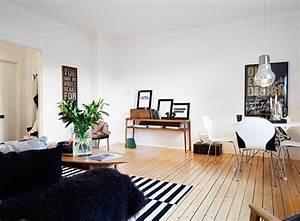 Teppich Streifen Schwarz Weiß : schwarze und wei e elemente stilvolles klassisches interieur ~ Bigdaddyawards.com Haus und Dekorationen