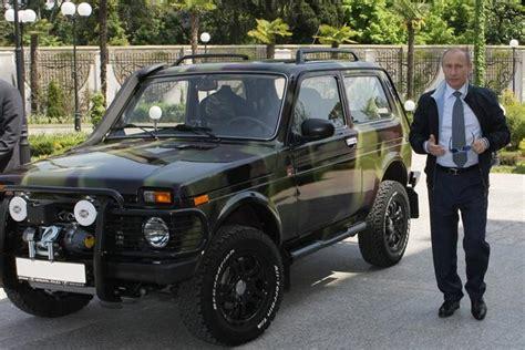 Putin Loves His (customized) Lada