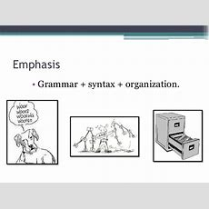 The Grammar Syntaxorganization Approach