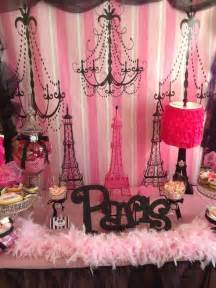 Paris Birthday Party Decorations
