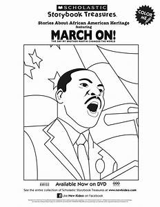 Scholastic Printable March On Martin Luther King Jr