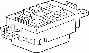 Jaguar Xe Fuse Box  Junction Block  Panel  A Component