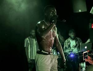 Sheck Wes Paints The Town Rouge At Mystery Concert