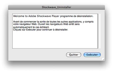 Adobe Shockwave Player Pour Mac