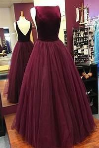 She Made Me Size Chart Elegant Low Back Burgundy Sleeveless Prom Dress Military