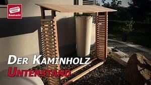 Hackklotz Selber Bauen : der kaminholz unterstand holz trocken lagern youtube ~ Watch28wear.com Haus und Dekorationen