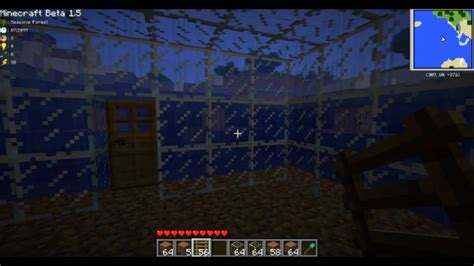 smurfs tutorials minecraft underwater basehouse    beta  youtube