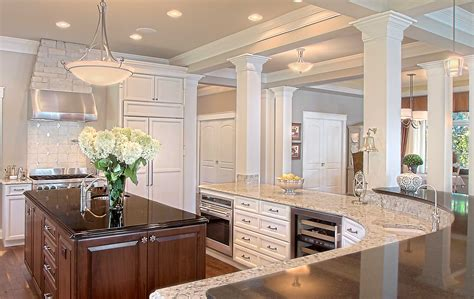 kitchen island with posts universal design is for everyone thelen total construction