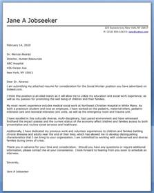 Cover Letters For Social Workers Cover Letter Exle Social Worker Covering Letter Exle