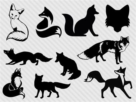 Download fox icon free icons and png images. Fox svg bundle fox clipart fox silhouette svg fox dxf cut ...