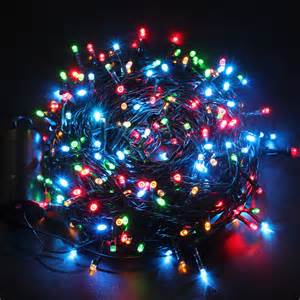 aliexpress com buy excelvan light christmas 40m 300 led outdoor string light luces de navidad