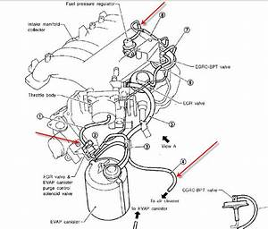 Nissan Quest Vacuum Hose Diagram