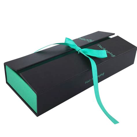 china exquisite cardboard haie paper box with ribbon high quality exquisite cardboard haie
