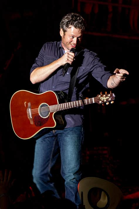 blake shelton guitar blake shelton guitar photograph by mike burgquist