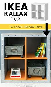 Ikea Kallax Hack : ikea kallax hack industrial storage for a boys bedroom grillo designs ~ Markanthonyermac.com Haus und Dekorationen