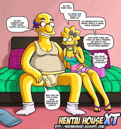 Dream Cum True O Boquete Perfeito De Lisa Simpsons