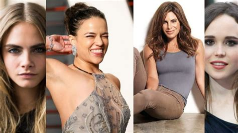 Top 10 Celebrities You Didn't Know Were Lesbian Female