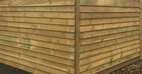 pressure treated featheredge equestrian fencing