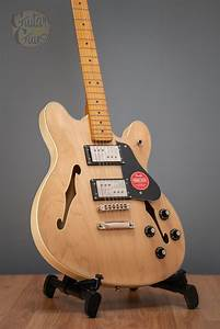 Squier Classic Vibe Starcaster  Natural