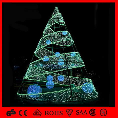 led spiral outdoor christmas trees china outdoor 8m commercial led spiral tree light hollister