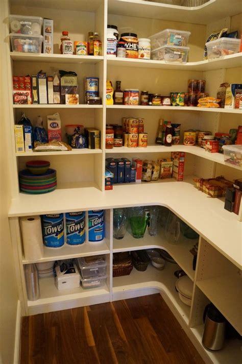 Shelving Pantry Ideas by Pantry Idea Like The Deeper Shelves On The Bottom I