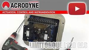 Limitorque L120 Gls Limit Switch Adjustment