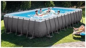 Piscine Tubulaire Intex : piscine intex ultra silver piscine center net ~ Nature-et-papiers.com Idées de Décoration