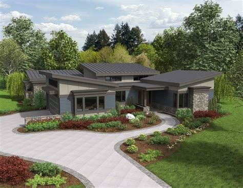 Modern Ranch Home Designs Ideas Photo Gallery by Contemporary Ranch House Plans With Photos