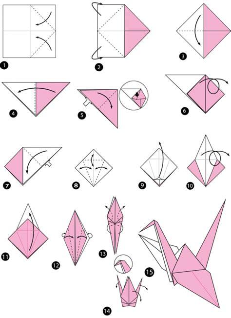 origami kranich anleitung origami vogel anleitungen zum nachbasteln geolino