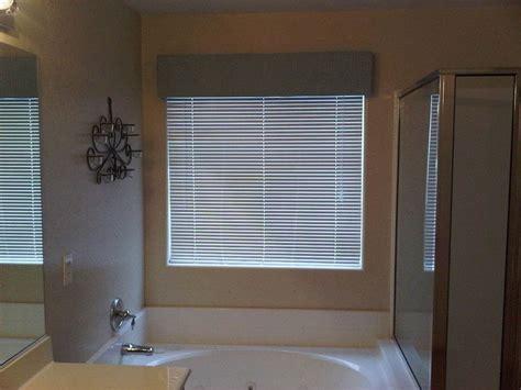 master bath window cornice  curtainblinds decorating