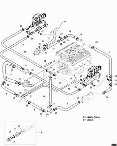 Mercruiser Black Scorpion 350 Mag Mpi Standard Cooling