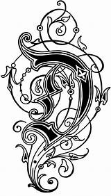 Alphabet Calligraphy Letters Letter Fancy Fonts Lettering Monogram Floral Styles Typography Illuminated Google Outline Capital Decorative Tattoo Designs Laser Monograms sketch template