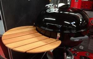 Grilltisch beistelltisch ablage f r weber outdoorchef for Weber tisch