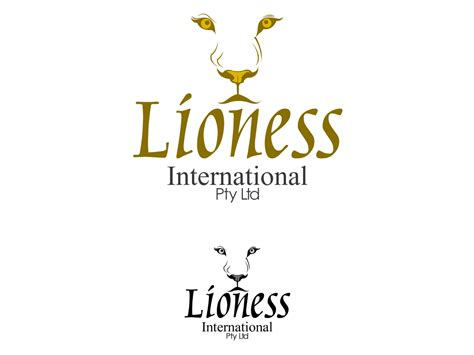 54 Feminine Bold Logo Designs For Lioness International