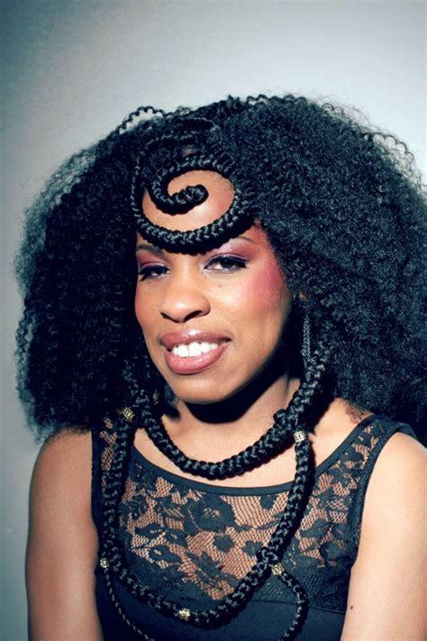 coiffure africaine femme tresse coiffure en image