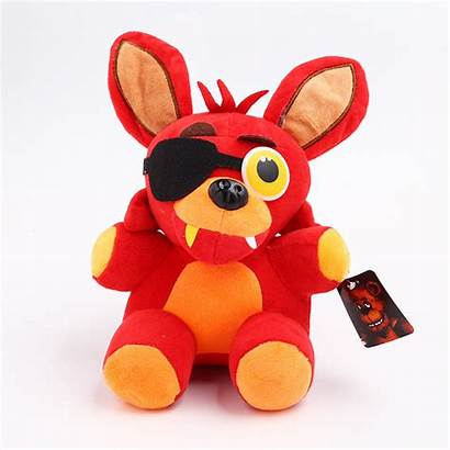 Fnaf Foxy Plush Freddy Nights Five Roblox