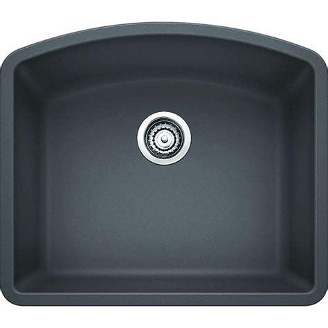 undermount granite composite kitchen sinks blanco undermount granite composite 24 in single 8725