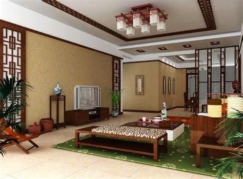 chambre chinoise chambre classique chinoise vivant style 3d model