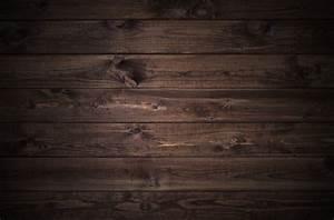 Dark wood planks - Custom Wallpaper