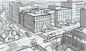 les 5 regles pour bien dessiner en perspective apprendre With dessiner maison en 3d 2 interieur maison en perspective